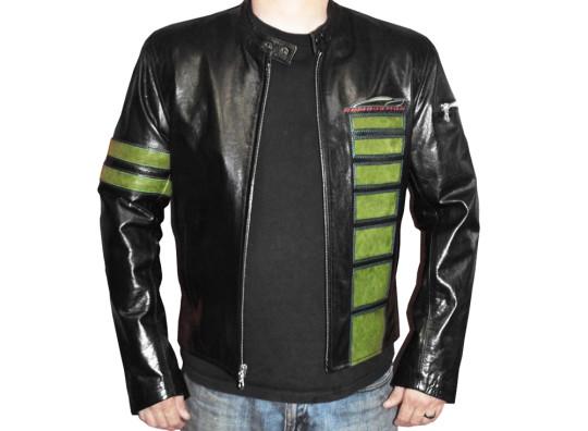 Detroit Jacket - Green and Black