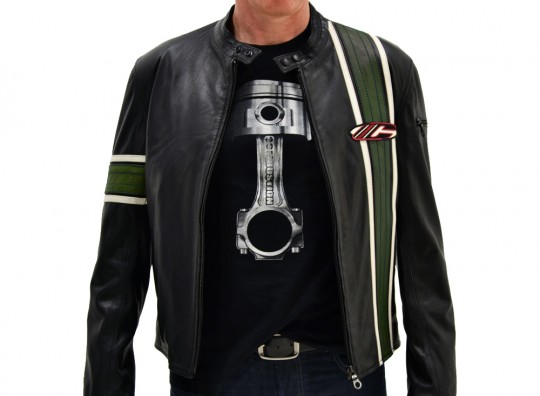 Bullit Jacket - Black & Green