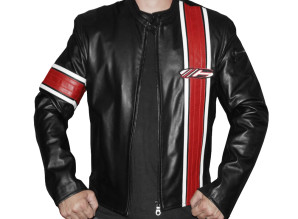 Bullit Jacket - Red & Black