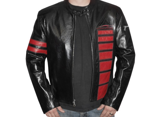 Detroit Jacket - Red and Black