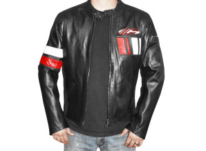 Salt Flat Jacket - Black, Red and White